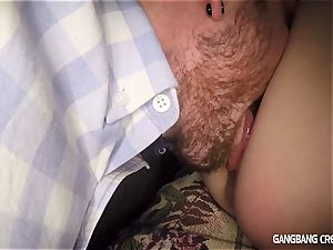 uber-sexy car deep throat by the nice Angel Smalls