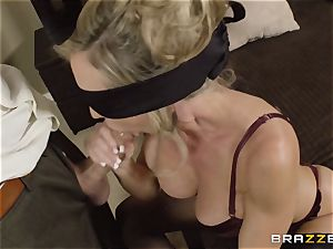 The hubby of Brandi enjoy lets her shag a different man