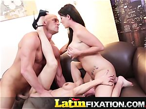 LatinFixation warm threesome with Sophie Dee