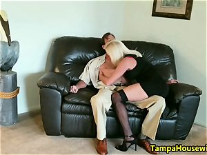 The Incall Series with kinky blond
