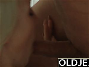 ultra-kinky Morning bang-out old youthfull porno girlfriend pounded spunk