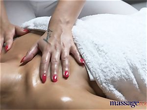 massage apartments mind-blowing tanned lithe lezzies