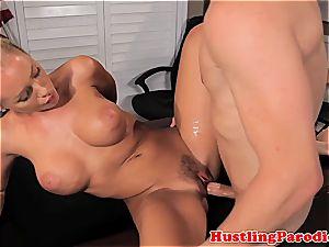 Nicole Aniston seducing scotts man meat