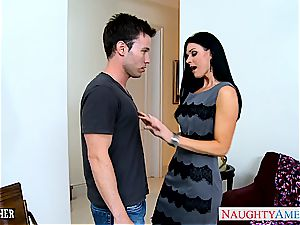 amazing India Summer in pantyhose gargles meatpipe
