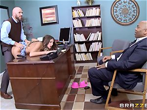 exquisite August Ames gets penetrated by the dean