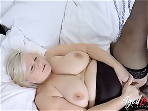 AgedLovE Lacey Starr multiracial gonzo fuck-a-thon