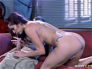 giving it deep into the pornstar of Monique Alexander