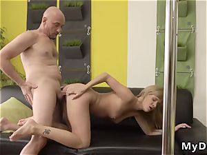 older boy dp and mommy ally s fucking partner dad Would you pole-dance on my jizz-shotgun?