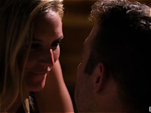 Mona Wales has a romantic enjoy session with her handsome boy