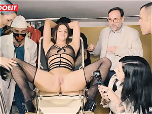 LETSDOEIT - Amirah Is abused at her first-ever bondage & discipline soiree