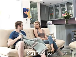 SpyFam Step sister Lena Paul bangs step bro