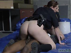 Public mummy and humungous dick assfuck Cheater caught doing misdemeanor break in