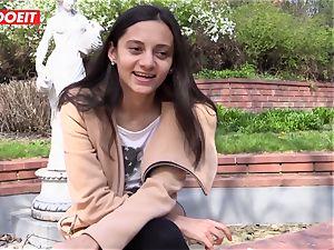 LETSDOEIT - kinky teenager luvs rubbing Her love button to orgasm