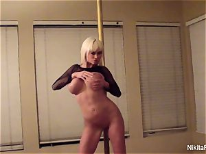 Nikita gives you a private glamour dance & a pov blowage