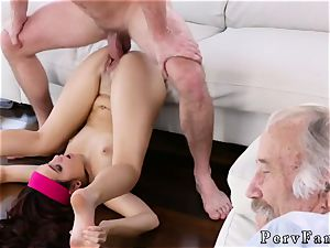crony s step daughter takes care Scary flicks With Stepbro