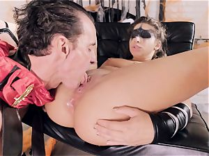 Abella Danger gets plumbed by a horny stiff gladiator