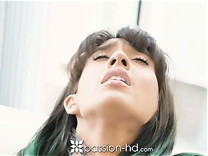 PASSION-HD juicy vulva splatter with Janice Griffith