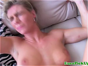 blonde eurobabe point of view fucked