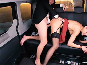 porked IN TRAFFIC - british Tina Kay pounded in the car