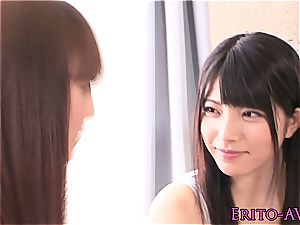 stellar youthful chinese lesbos scissoring
