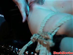 flogged Chanel Preston poked while tiedup