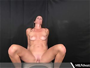 insatiable milf Sofie Marie ride On pipe Cowgirl fashion