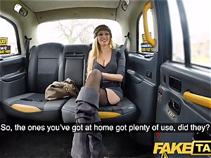 faux taxi busty blondie mummy Amber Jayne bj's and plumbs