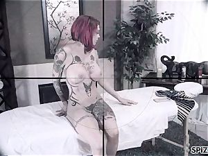 Spizoo - Anna Bell Peaks is romped by a thick spear
