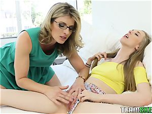 Cory gets caught toying with her stepmoms toys