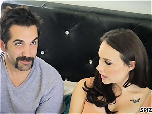 Spizoo - witness Chanel Preston deep-throating and plowing