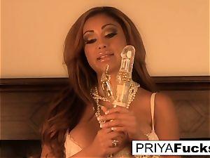 One lucky wand satisfies stunning Priya