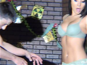 Behind the sequences with Asa Akira vs. Zombie shoot