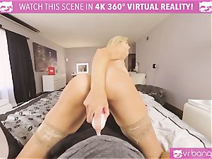 VRBangers.com-MILF is stuffing a vibro in her labia