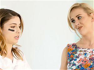 Kristen Scott gets individual with super hot stepmom Cherie Deville