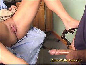 Insemination at the Trailer Park medical center